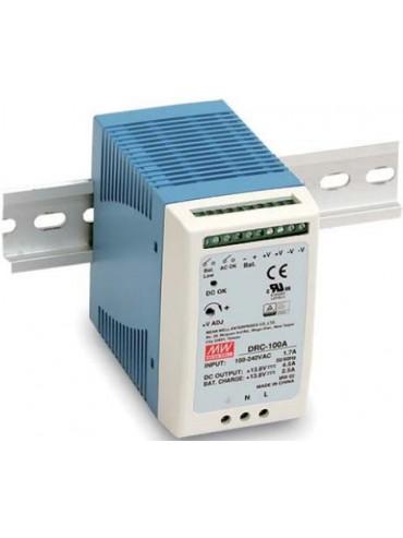 DRC-100B Zasilacz 100W 27.6V 3.5A. 27.6V 1.25A