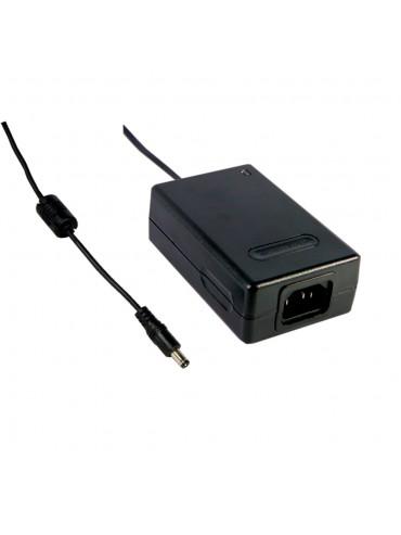 MES30A-6P1J Zasilacz desktop 30W 24V 1.25A