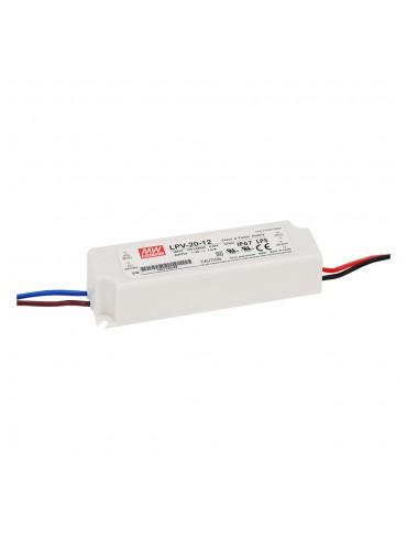 LPV-20-12 Zasilacz LED 20W 12V 1.67A