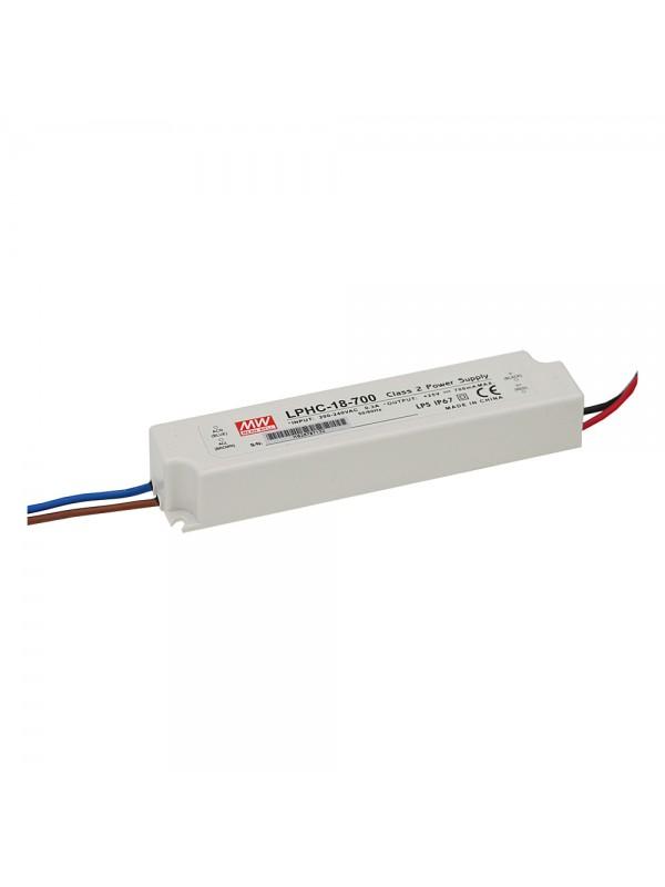 LPHC-18-700 Zasilacz LED 18W 6~25V 0.7A