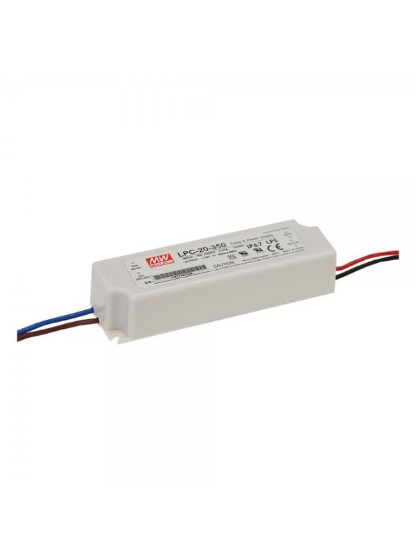 LPC-20-350 Zasilacz LED 20W 3~48V 0.35A