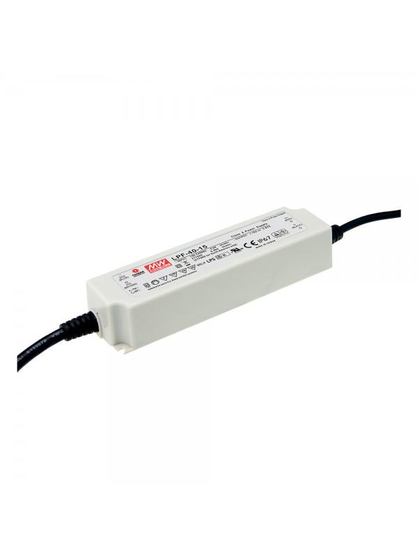 LPF-40-12 Zasilacz LED 40W 12V 3.34A