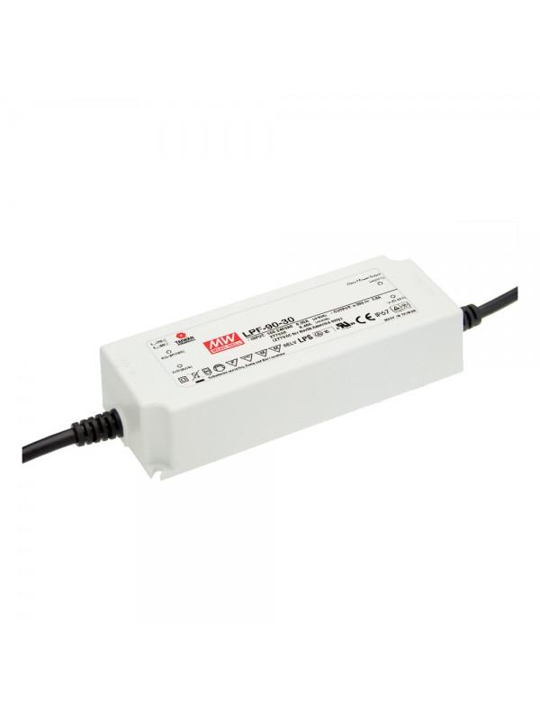 LPF-90-30 Zasilacz LED 90W 30V 3A