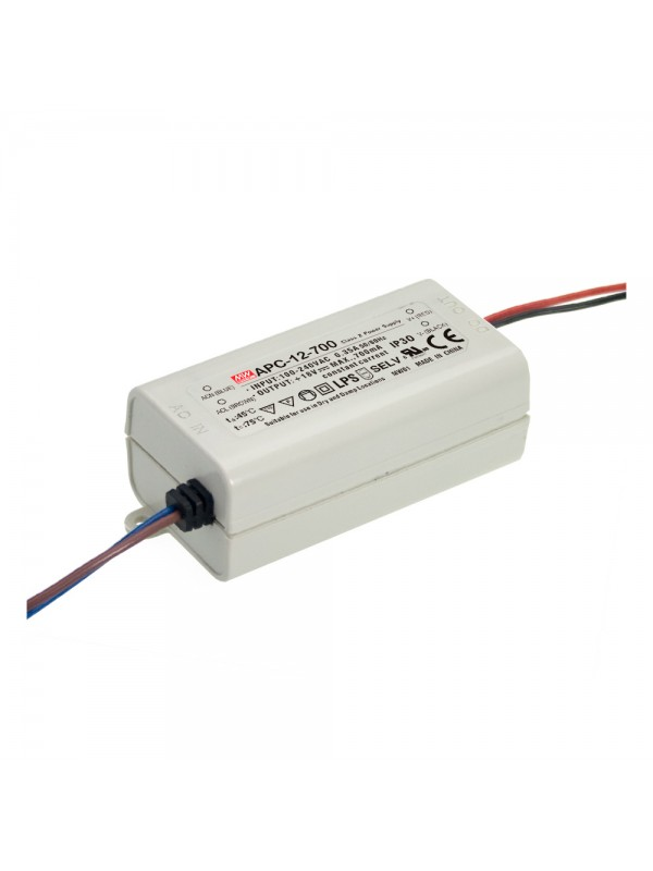 APC-16-350 Zasilacz LED 16W 12~48V 0.35A