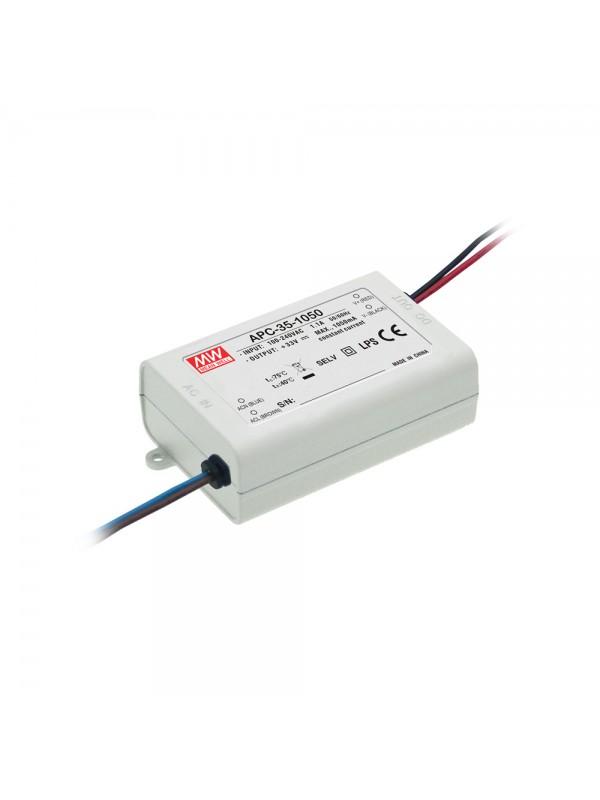 APC-35-1050 Zasilacz LED 35W 11~33V 1.05A