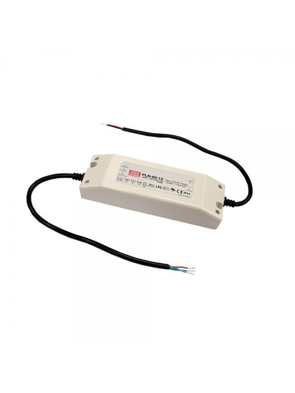 PLN-60-12 Zasilacz LED 60W 12V 5A