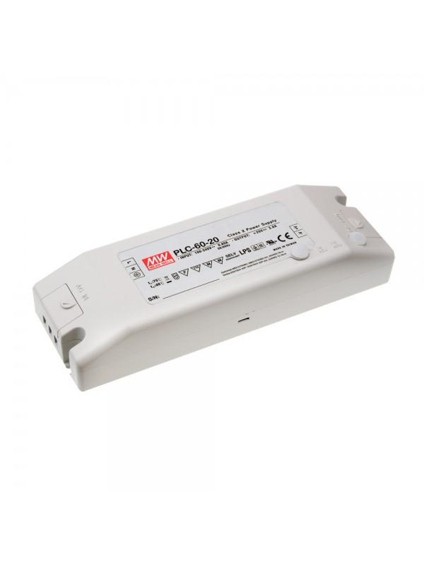 PLC-60-12 Zasilacz LED 60W 12V 5A