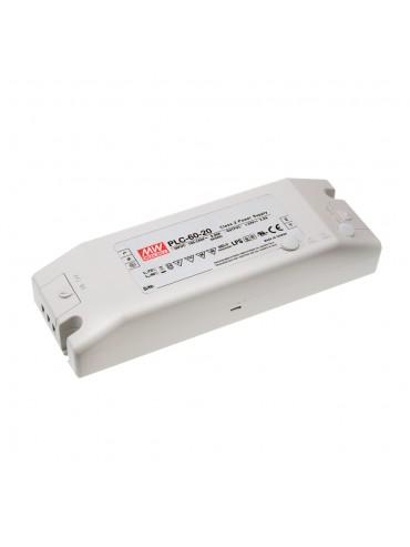 PLC-60-20 Zasilacz LED 60W 20V 3A