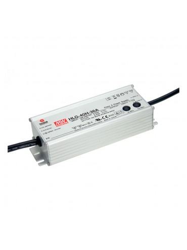 HLG-40H-12 Zasilacz LED 40W 12V 3.33A