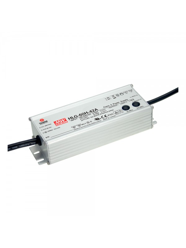 HLG-60H-42 Zasilacz LED 60W 42V 1.45A