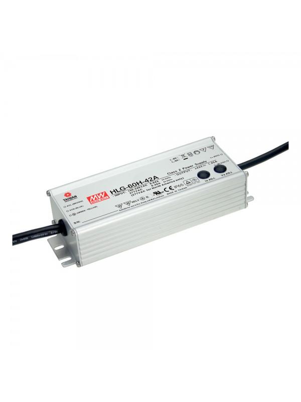 HLG-60H-42A Zasilacz LED 60W 42V 1.45A