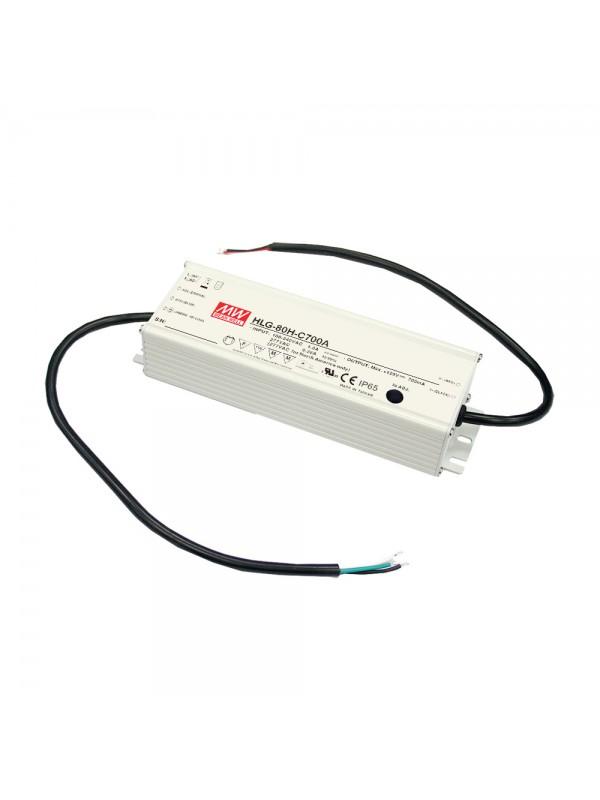 HLG-80H-42 Zasilacz LED 80W 42V 1.95A