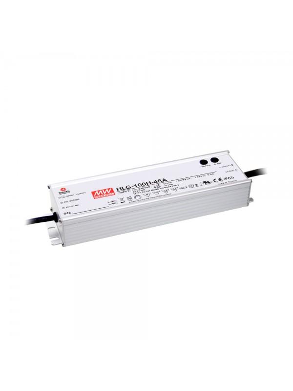 HLG-100H-15B Zasilacz LED 75W 15V 5A