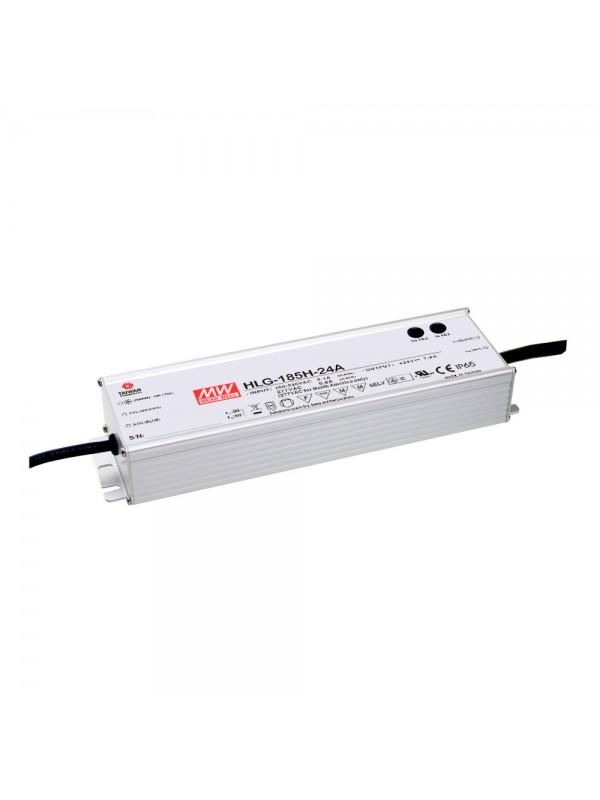 HLG-185H-24C Zasilacz LED 185W 24V 7.8A
