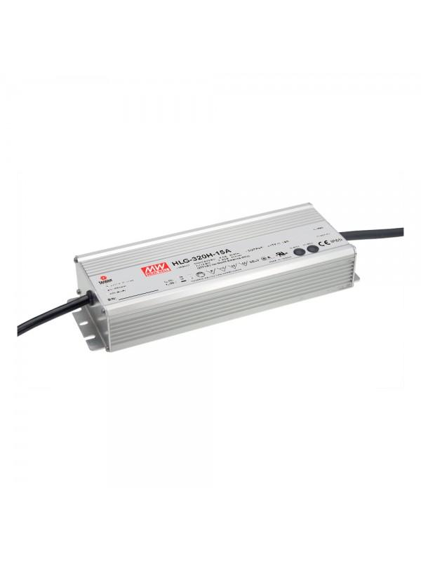 HLG-320H-15A Zasilacz LED 320W 15V 19A