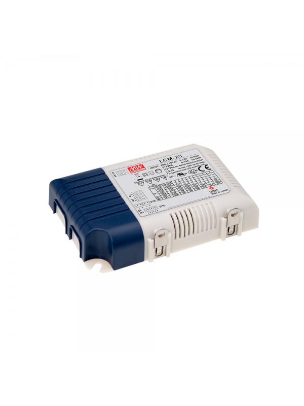 LCM-25 Zasilacz LED 25W 6~54V 0.35~1.05A