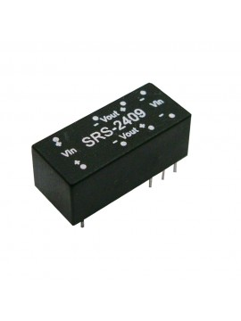 SRS-1215 Moduł DC/DC 0.5W 12V±10%/ 15V 0.034A