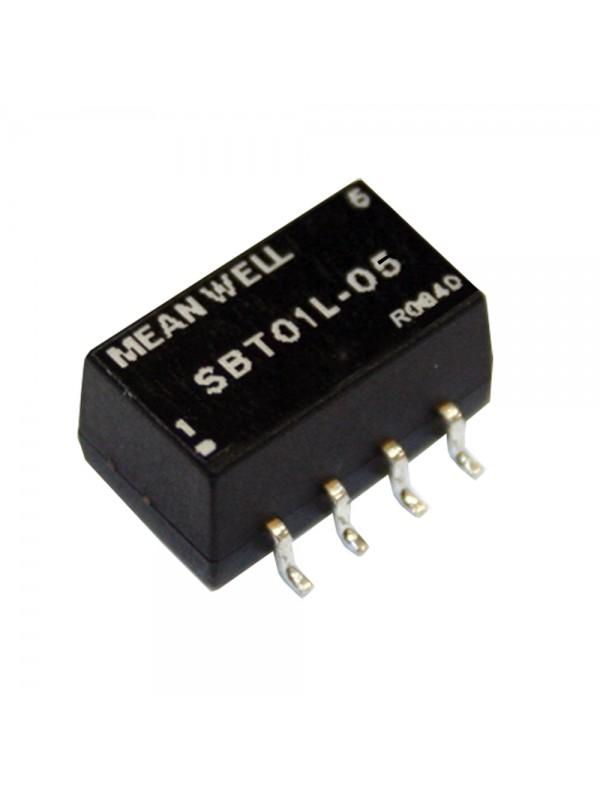 SBT01M-09 Moduł DC/DC 1W 12V±10%/ 9V 0.111A