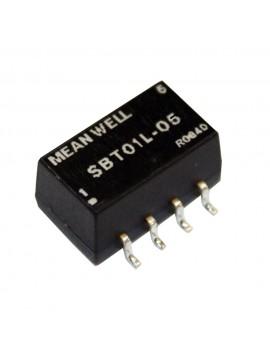 SBT01M-12 Moduł DC/DC 1W 12V±10%/ 12V 0.084A