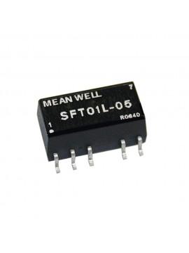 SFT01L-05 Moduł DC/DC 1W 5V±10%/ 5V 0.2A
