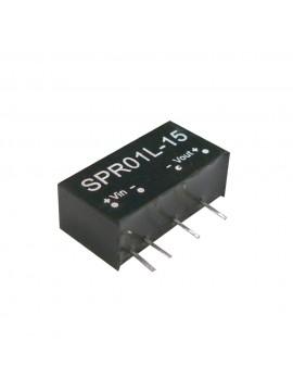 SPR01L-15 Moduł DC/DC 1W 5V±10%/ 15V 0.067A