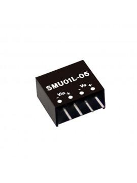 SMU01L-05 Moduł DC/DC 1W 5V±10%/ 5V 0.2A