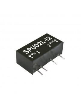 SPU02N-05 Moduł DC/DC 2W 24V±10%/ 5V 0.4A