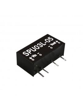 SPU03L-05 Moduł DC/DC 3W 5V±10%/ 5V 0.6A
