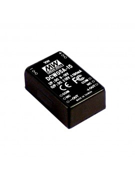 DCW05B-15 Moduł DC/DC 5W 18~36V/ ±15V ±0.19A