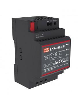 KNX-20E-640 Zasilacz KNX 20W 30V 0.64A