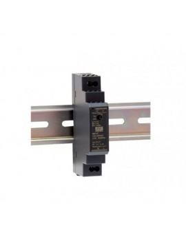 HDR-15-24 Zasilacz na szynę DIN 15W 24V 0.63A