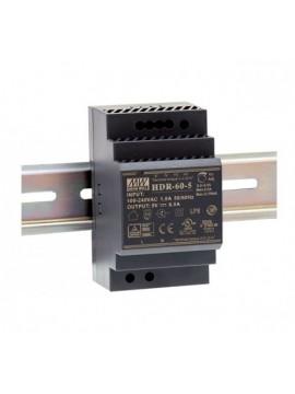 HDR-60-12 Zasilacz na szynę DIN 60W 12V 4.5A