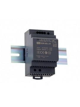 DDR-60G-5 przetwornica DC/DC na szynę DIN 60W 9~36V-5V 10.8A