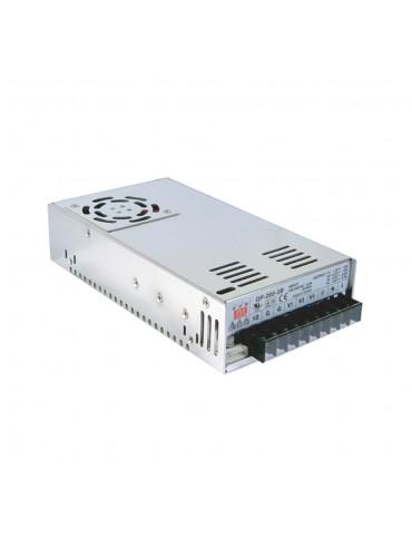 QP-200D Zasilacz impulsowy 200W 5V.12V. 24V.-12V