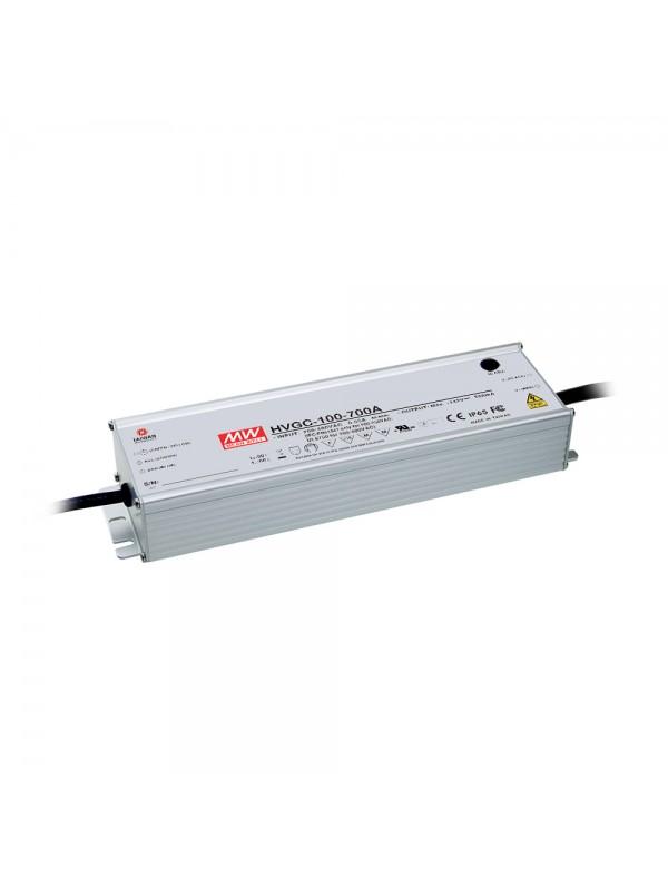 HVGC-100-350A Zasilacz LED 100W 29~285V 0.35A