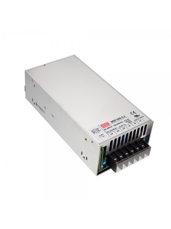 MSP-600-3.3 Zasilacz impulsowy 600W 3.3V 120A