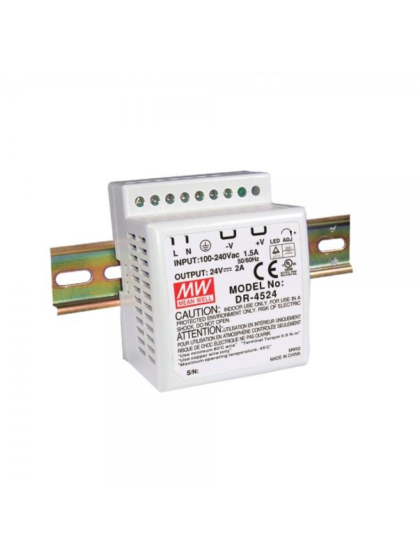 DR-4505 Zasilacz na szynę DIN 25W 5V 5A