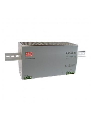 DRP-480-24 Zasilacz na szynę DIN 480W 24V 20A