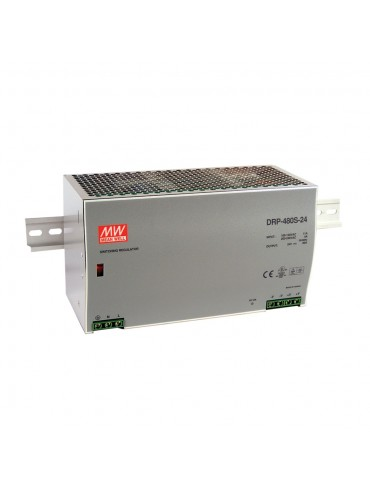 DRP-480S-24 Zasilacz na szynę DIN 480W 24V 20A