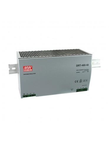 DRT-480-48 Zasilacz na szynę DIN 3-fazowy 480W 48V