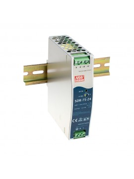 SDR-75-48 Zasilacz na szynę DIN 75W 48V 1.6A