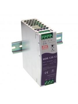 WDR-120-24 Zasilacz na szynę DIN 120W 24V 5A